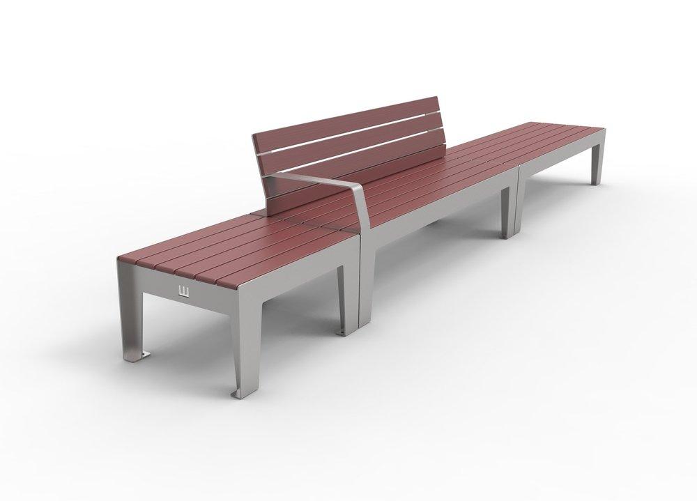 H_02 Mini Bench, H_01 Seat & H_02 Bench