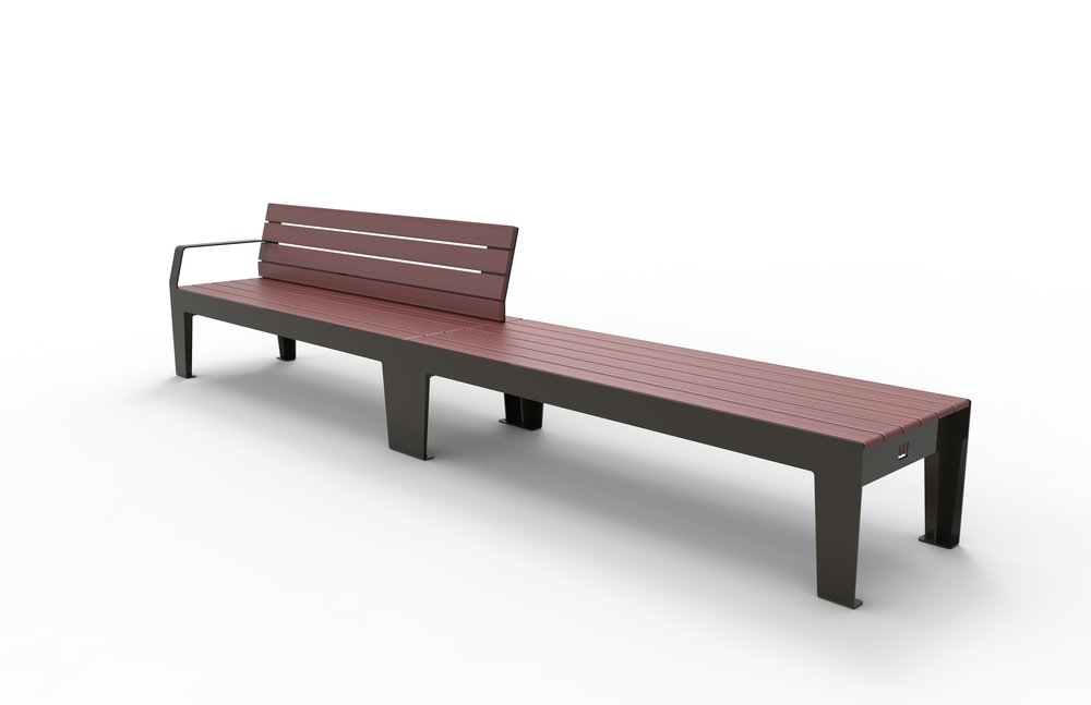 H_01 Seat with H_02 Bench