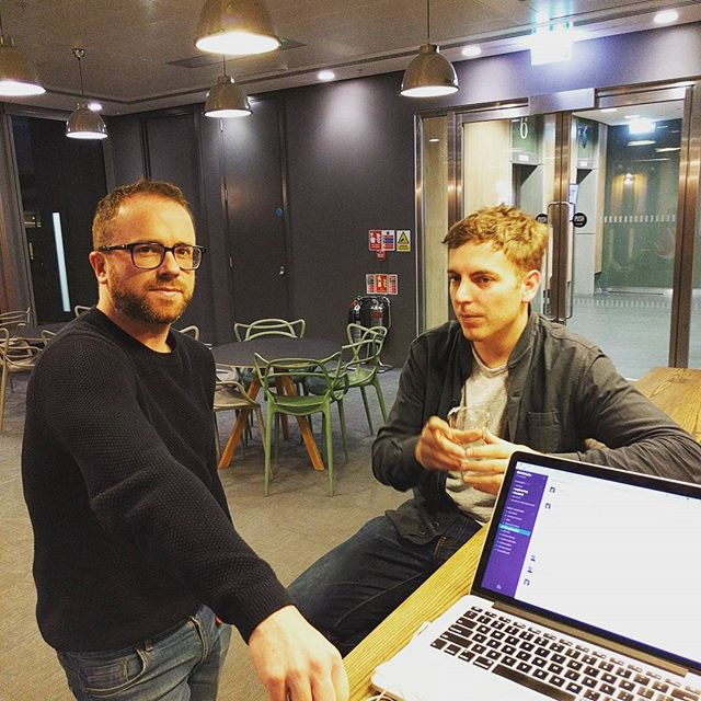 #customersuccess catching up with #design #businessasusual #collaboration this is #howweroll #startup #entrepreneur #ux #ui