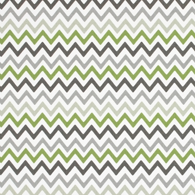 Zag Zig Eucalyptus  100% Cotton  137cm  |12cm  Curtaining