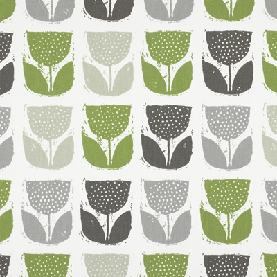 Poppy Pod Eucalyptus  100% Cotton  137cm | 32cm  Curtaining