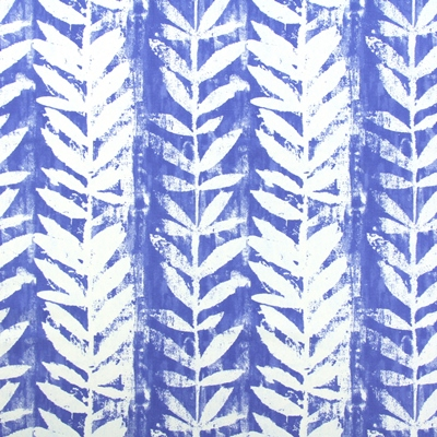 Morella Azure 100% Cotton 137cm | 32cm Curtaining