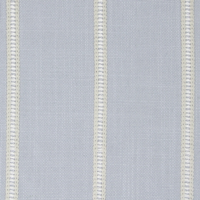 Carmen Denim 31% Cott/31% Visc/19% Lin/19% Poly 138cm | Vertical Stripe Embroidered