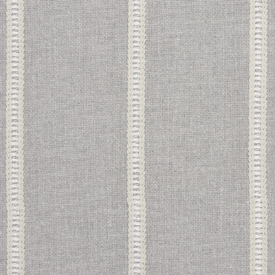 Carmen Dove 31% Cott/31% Visc/19% Lin/19% Poly 138cm | Vertical Stripe Embroidered