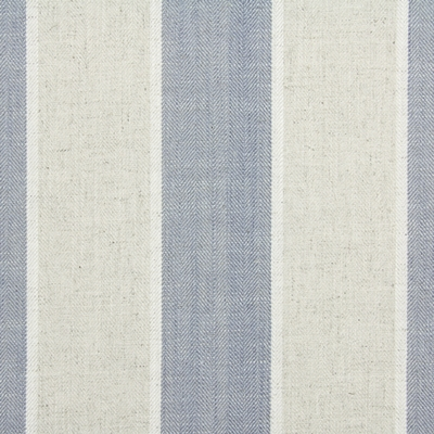 Celeste Denim 25% Cott/25% Lin/25% Visc/25% Poly 137cm | Vertical Stripe Dual Purpose