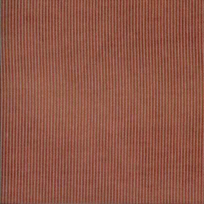 Salon Rust 100% Polyester 140cm |Vertical Stripe Dual Purpose