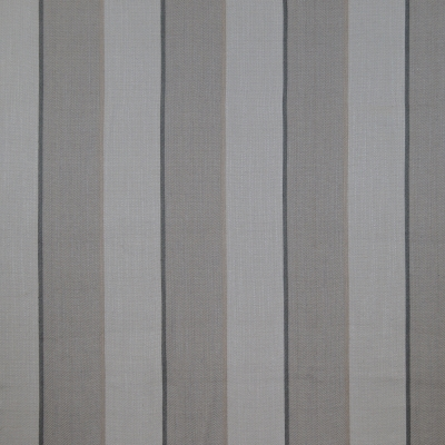 Deluxe Pewter 39.4% Poly/28.8% Visc/19.3% Cott/12.5%  140cm  | Vertical Stripe Dual Purpose