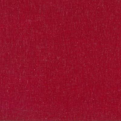 Lino Cherry 100% Polyester 142cm | Plain Dual Purpose