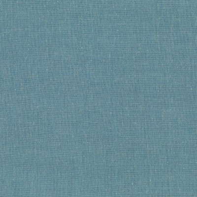 Lino Teal 100% Polyester 142cm | Plain Dual Purpose
