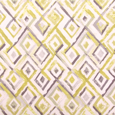 Sirocco Sulphur 100% Cotton 137cm | 64cm Curtaining