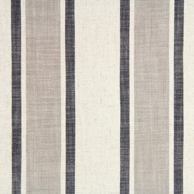 Farray Charcoal 80% Viscose/20% Linen 138cm |Vertical Stripe Dual Purpose