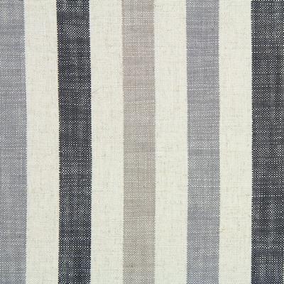 Seil Charcoal 80% Viscose/20% Linen 138cm |Vertical Stripe Dual Purpose