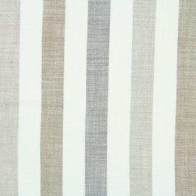 Seil Natural 80% Viscose/20% Linen 138cm |Vertical Stripe Dual Purpose