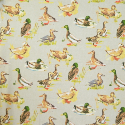 Mallard Linen 100% cotton 140cm | 64cm Curtaining