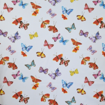 Sweet Butterfly Watercolours 100% cotton 140cm | 64cm Curtaining