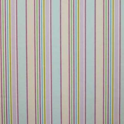 Addison Lavender 100% Cotton 137cm |Vertical Stripe Curtaining