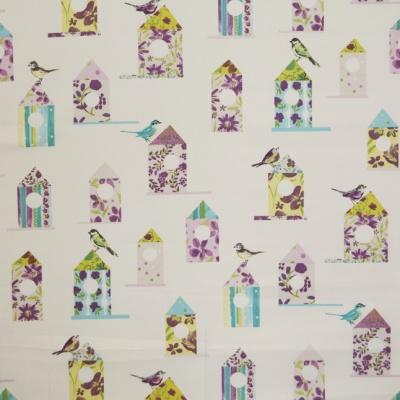 Aviary Lavender 100%cotton 137cm |63cm Curtaining