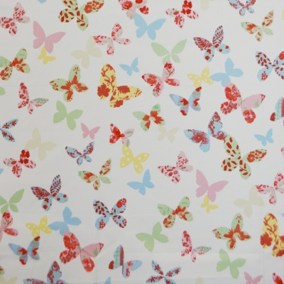 Butterfly Chintz 100% cotton 137cm | 63cm Curtaining