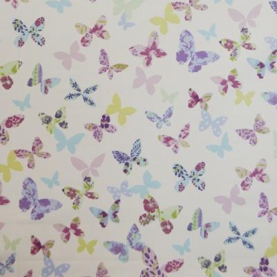 Butterfly Lavender 100% cotton 137cm |63cm Curtaining