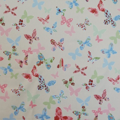 Butterfly Vintage 100% cotton 137cm | 63cm Curtaining