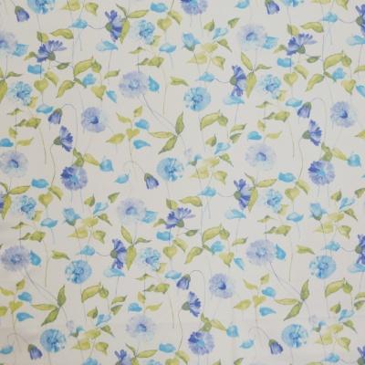 Daisy Chain Cornflower 100% cotton 137cm |62.5cm Curtaining
