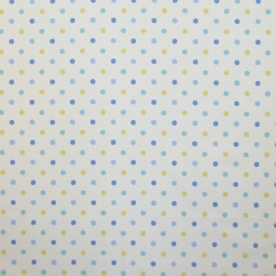 Millie Cornflower 100% cotton 137cm |9.1cm Curtaining