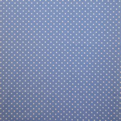 Nancy Cornflower 100% cotton 137cm |2.6cm Curtaining