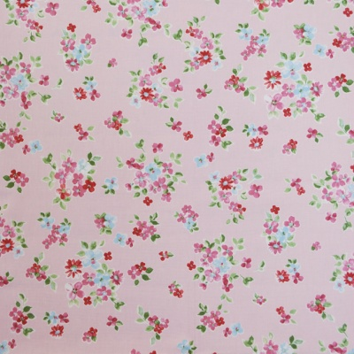 Posie Vintage 100% cotton 137cm |63.7cm Curtaining