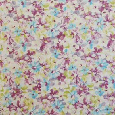 Pot Pourri Lavender 100% cotton 137cm |63cm Curtaining