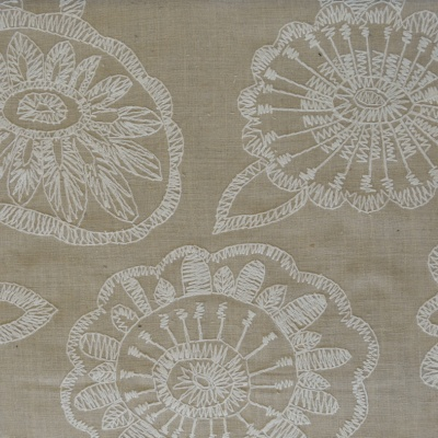 Juno Linen 73% Poly/27% Cott 138cm (useable 131cm) | 45cm Embroidery