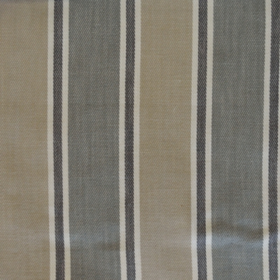 Rae Smoke 56%Cott/30%Visc/14%Lin 139cm (useable 137cm) | Vertical Stripe Dual Purpose