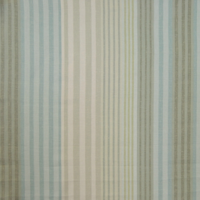 Burlington Duck Egg 83% Cotton/17% Linen 137cm | Vertical Stripe Dual Purpose
