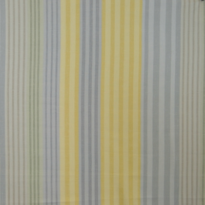 Burlington Mimosa  83% Cotton/17% Linen  137cm | Vertical Stripe  Dual Purpose