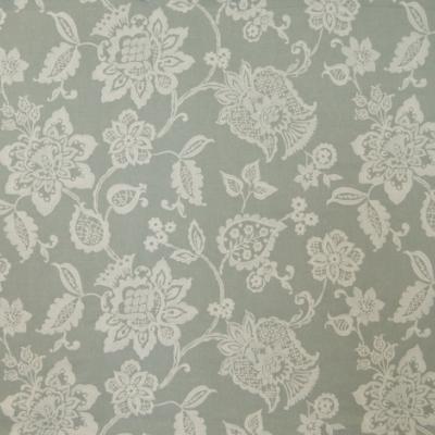 Oakmere Duck Egg  51% Poly/33% Cott/16% Linen  140cm (useable 130cm) |47cm  Embroidery