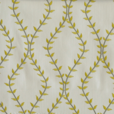 Fern Avocado 46%Poly/42%Cott/12%Visc 140cm (useable 138cm) | 15.6cm Embroidery