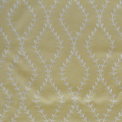 Fern Vellum 46%Poly/42%Cott/12%Visc 140cm (useable 138cm) | 15.6cm Embroidery