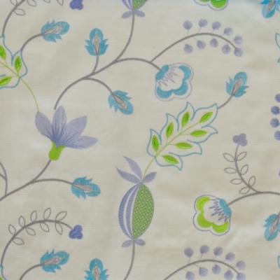 Fiorella Azure 46%Poly/42%Cott/12%Visc 140cm (useable 128cm) |31.2cm Embroidery
