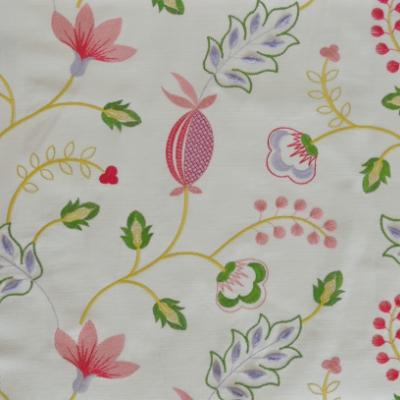 Fiorella Rosebud 46%Poly/42%Cott/12%Visc 140cm (useable 128cm) |31.2cm Embroidery