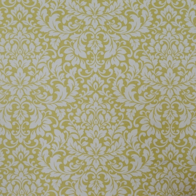 Carlotti Chartreuse 100% cotton 140cm | 64cm Curtaining