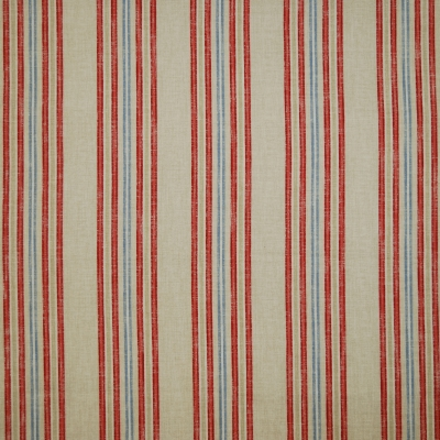 Beau Coral 100% cotton 140cm | Vertical Stripe Dual Purpose