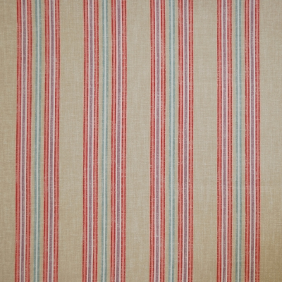 Beau Pomegranate 100% cotton 140cm | Vertical Stripe Dual Purpose