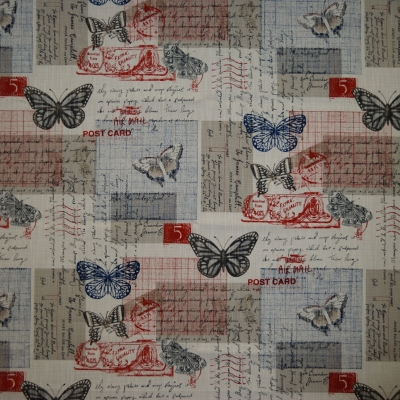 Flutter Postal 100% cotton 140cm | 62cm Dual Purpose
