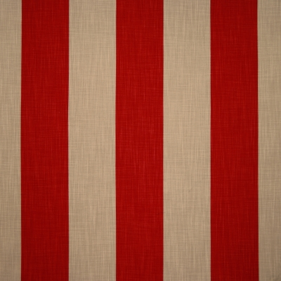 Palais Redstone 100% cotton 140cm | Vertical Stripe Dual Purpose