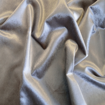 Batu Pewter   100% polyester    145cm | Plain    Dual Purpose