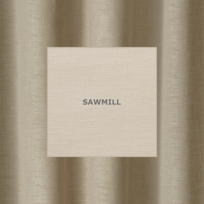 WILLOW SAWMILL  285 x 218cm - standard tape - lined  285 x 250cm - standard tape - lined  230 x 220cm - eyelets - lined  230 x 252cm - eyelets - lined  100% Polyester