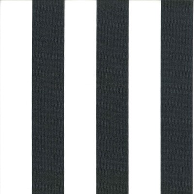 Veranda Jet 73% polyester/ 27% acrylic 140cm | Vertical Stripe Indoor/Outdoor