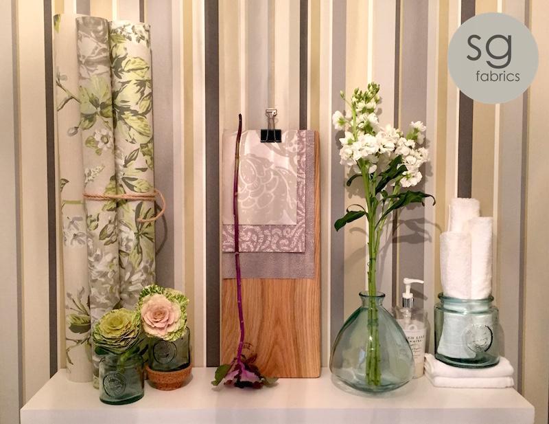 Wallpaper Rolls | Range Galleria | Design - Eleonara Willow and English Rose Willow