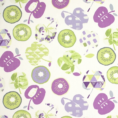 Bramley Lavender 100% cotton 137cm | 32cm Curtaining