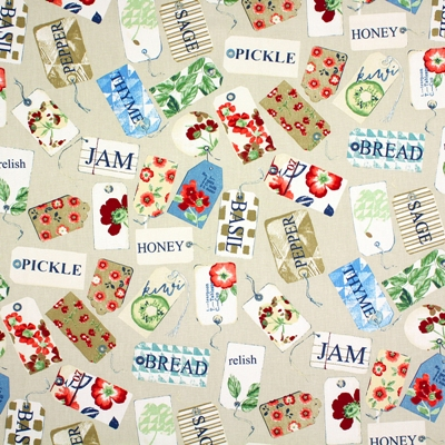 Pantry Antique 100% cotton 137cm | 64cm Curtaining