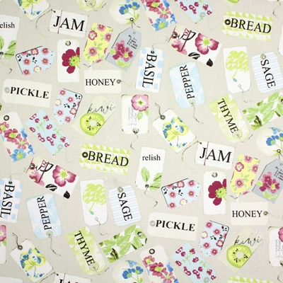 Pantry Vintage 100% cotton 137cm | 64cm Curtaining